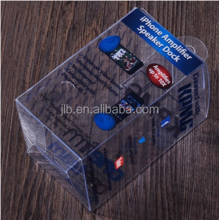 Folding up plastic box , custom small plastic boxes folding for power bank