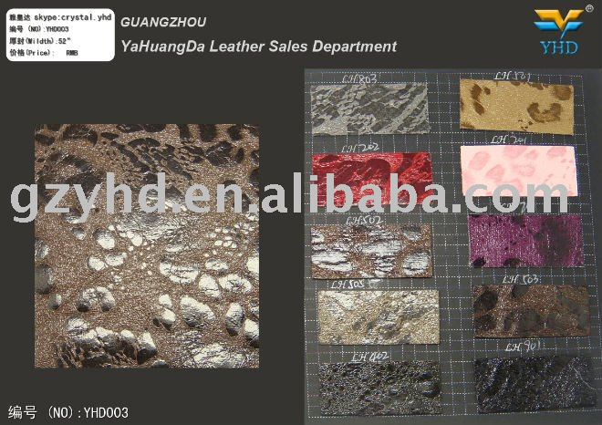 hot selling artifical embossing pu leather for bag