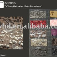 Hot Selling Artifical Embossing Pu Leather