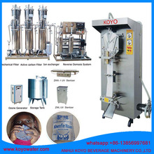 Drinking pure/mineral Water sachet Filling Equipment/Production Line