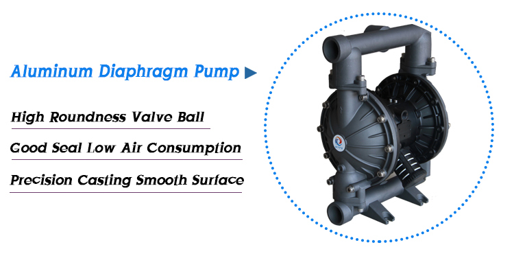 Chemical Resistant Air Diaphragm Reciprocating Pneumatic Oil Pumps With Santoprene Diaphragm Pump