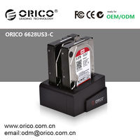 "2bay, 2.5"" /3.5"" USB 3.0 HDD Docking Station, clone function, hard disk docking"