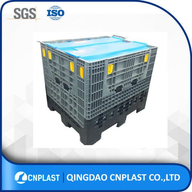 1200x1000x1000 Rack Size Large Plastic Storage Box Industrial Foldable Large Container