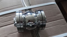 Stainless steel 304 316 sanitary ball check valve