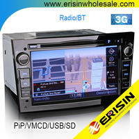 "Erisin ES7681P 7"" 2 Din Car DVD GPS for Vectra C 2004"