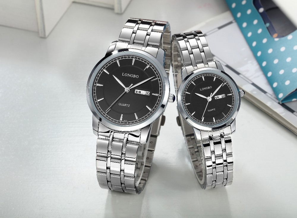 Most loving watches valentine couple watch with stainless steel band