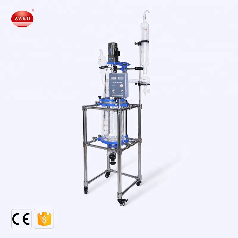 Laboratory Distillation Stirring Jacketed Glass Reactor