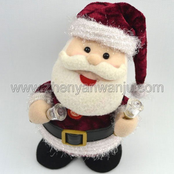 Electric Santa Claus&Electric Father Christmas&plush toy Stuffed toy from ICTI Certified Factory