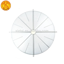 Custom metal fan guard in ventilation fan parts
