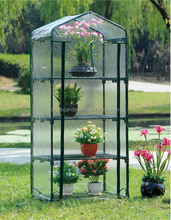 Indoor and Outdoor 4 Tier mesh cover Mini Garden Growhouse Greenhouse