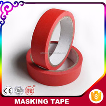 Foshan Packaging Products 150mic Crepe Paper Adhesive Colorful Auto Painting Tape
