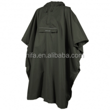 adult rain cape,nylon rain poncho,waterproof breathable poncho