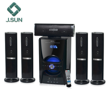 DM-8008 home theater speaker 5.1 surround mp3 player usb box mdf sound system