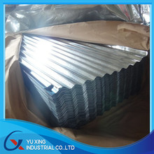 raw material for galvanized corrugated metal roofing sheet price