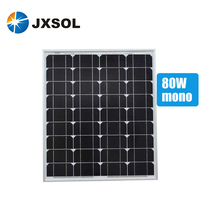 Chinese top supplier direct supply cheapest price 80w mono solar panel with full certificates