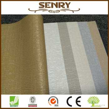 3d texture wall paper one color vinyl wallpapers gold / grey / silver / white / light brown
