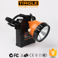led cordless mining cap lamp, led rechargeable miner lamp