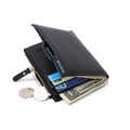 Famous Brand Man PU Leather Wallet with Coin Bag Zipper Bogesi 836 Leather Wallet for Men
