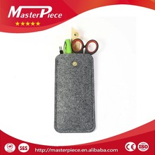 Felt mobile phone case wholesale, mobile phone bags, felt phone cover
