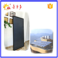 pressurized flat panel solar pool heating collectors