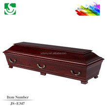 JS-E347 wholesale best price stainless steel coffin
