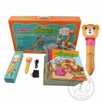 English Library Resource Speaking Book with Reading Pen, Kids Books with Reading Pen, Preschool English Book with Reading Pen