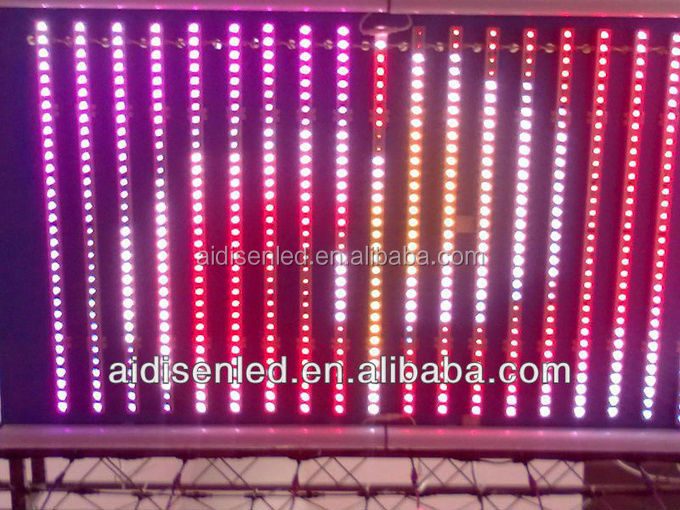 DMX addressable,aluminium led strip bar 5050 RGB led pixel software LED, RGB led pixel software Strip bar