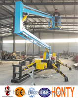 16 m self propelled articulating boom lift table