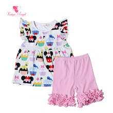 newest cosplay cartoon baby clothes sets baby boutique wholesale kids clothes