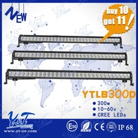 Motorcycle Lighting System 55inch offroad led driving light bar auto 4x4 led light bar, 300W led lightbar