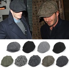 promotion classical woolen beret caps men fashion beret