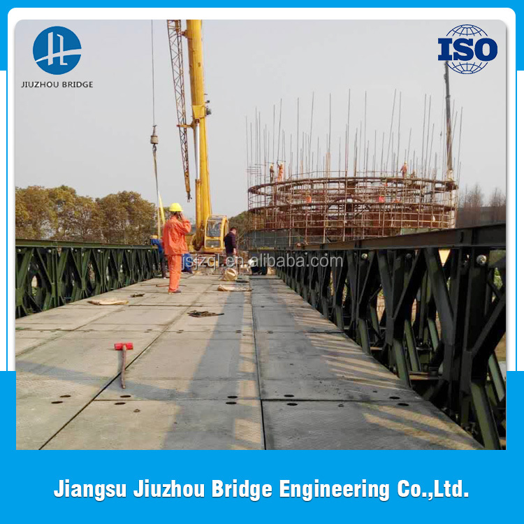 High Quality Low Cost and Fast Assembling compact steel bailey bridge