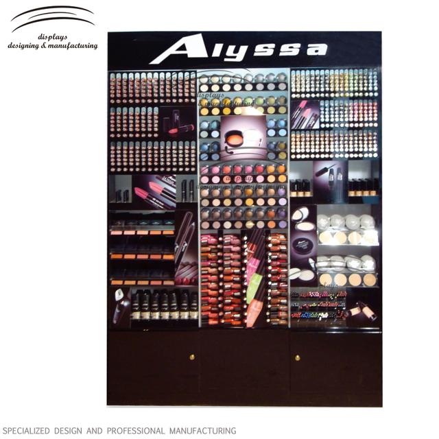 Weitu cosmetic display cabinet professional makeup stands acrylic cosmetic display shelf
