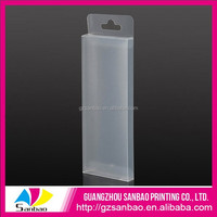 Wholesale custom-made Clear pink Plastic Pen Box Plastic Box