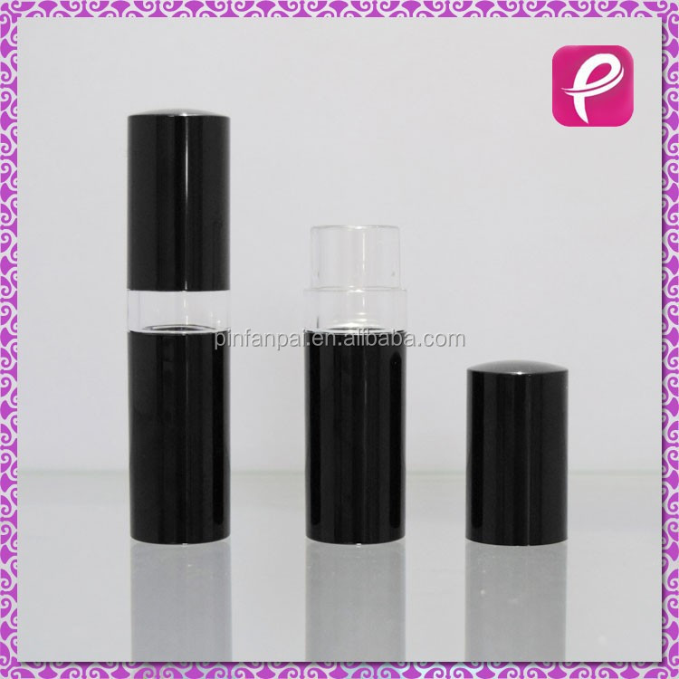 Black wholesale lipstick tube case
