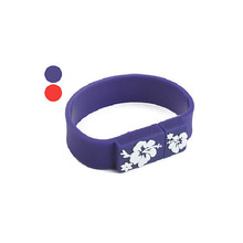 Power Silicone Flash Drive Silica Memory Custom USB Bracelet