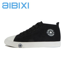AIBIXI Alibaba China Comfortable Women Lace-Up Canvas Casual Shoes