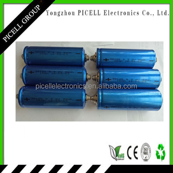 LiFePO4 3.2V 10Ah 10C battery for Power tools batteries, electric vehicle batteries, electric bike