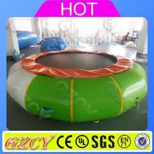 Crazy fun inflatable water toys,inflatable water bouncer for sale