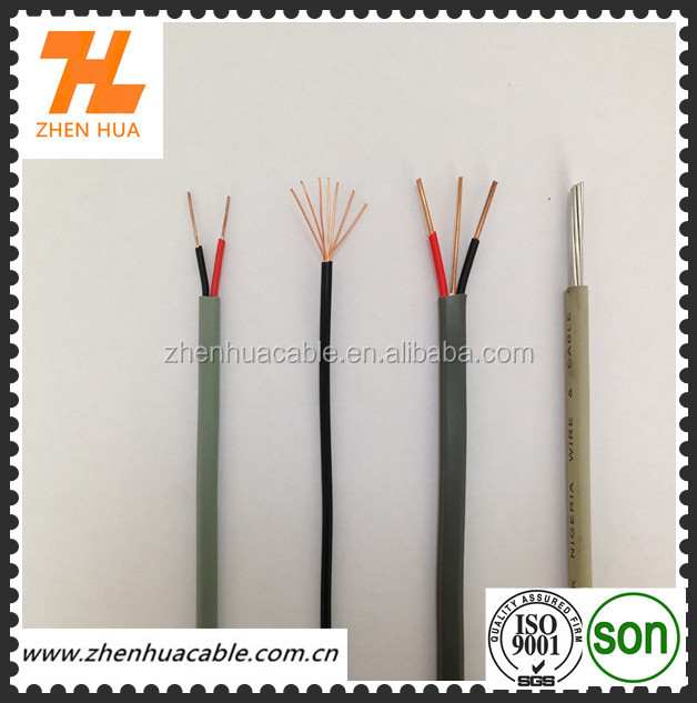 china low price 2 cores Single Wiring Cable Electrical Wire china low price