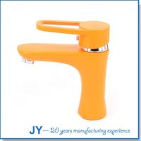 Contenporary single lever cheap colorful various types of faucets
