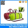 Alibaba China high quality sport bag European design custom duffel leather travel bag