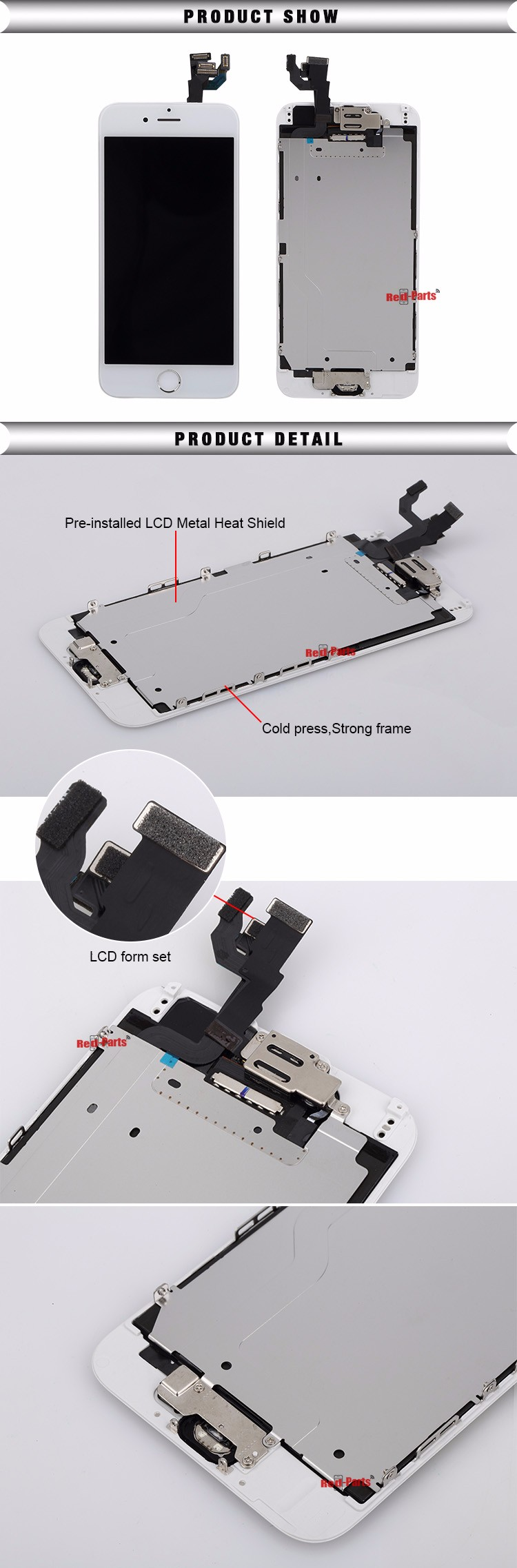 High Quality Display For Iphone 6, Factory Price For Iphone 6 Digitizer, Tianma Quality LCD Screen For Iphone 6