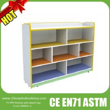 kids wooden toy shelf
