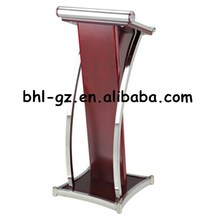 Guangzhou hotel wholesale supply wooden podiums wooden speech estrade rostrums church lectern T337