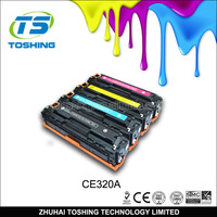 High quality CE320A CE320 320A COLOR toner cartridge for HP 320A Toner