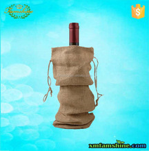 new arrival fancy jute wine bottle bag