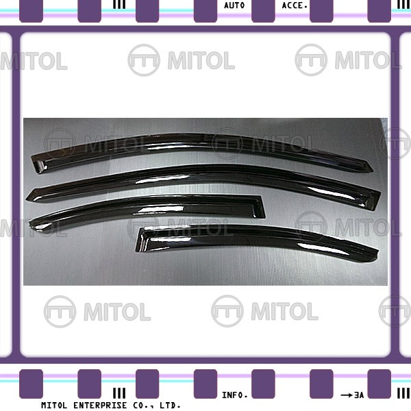 For Subaru WRX 14-on Windows Visor, Window Deflectors
