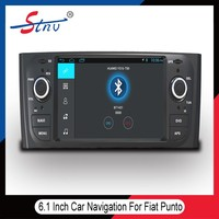 6.1 inch android navigation for Fiat Punto with bluetooth enabled/car dvd gps
