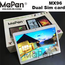 MaPan Cheapest wholesale 3G phone call tablet android tablet 9.6inch MTK 6582 IPS screen 1GB 16GB Tablet PC MX96